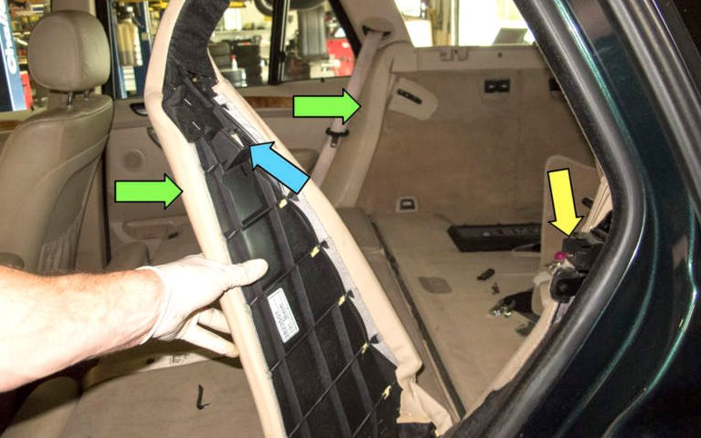 Как снять и заменить сидения на BMW X5 (фото инструкция)
